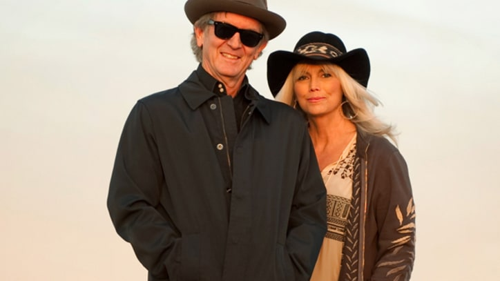 Emmylou Harris, Rodney Crowell Duet on 'Hanging Up My Heart' – Song Premiere