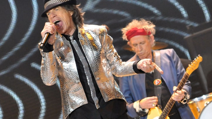 Rolling Stones Join '12-12-12' Sandy Benefit Concert