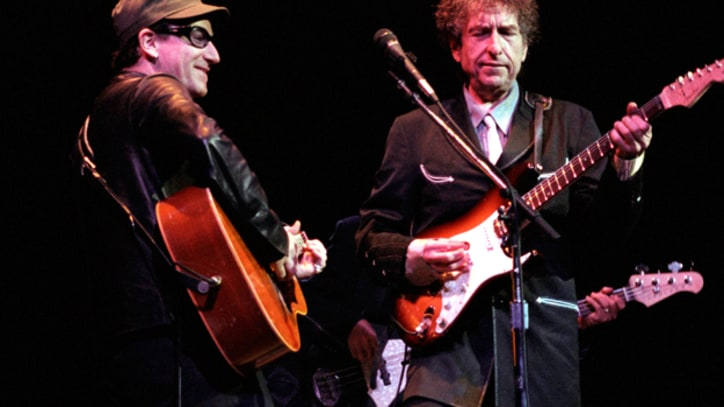 Bob Dylan and Bono Celebrate Opening of Vegas House of Blues