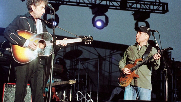 Bob Dylan and Paul Simon's Strange American Dream Team