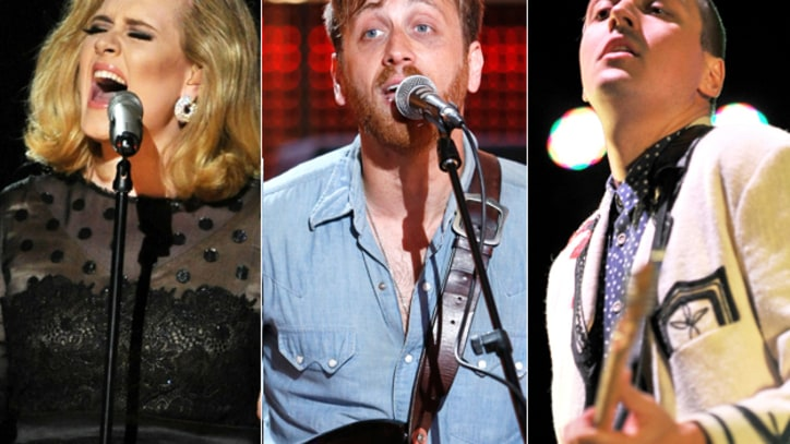 Adele, Black Keys, Arcade Fire Make Oscars Best Original Song Shortlist
