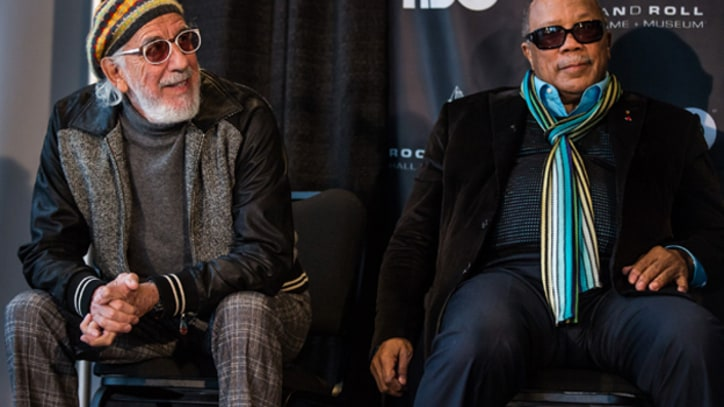 Quincy Jones and Lou Adler React to Rock Hall Induction