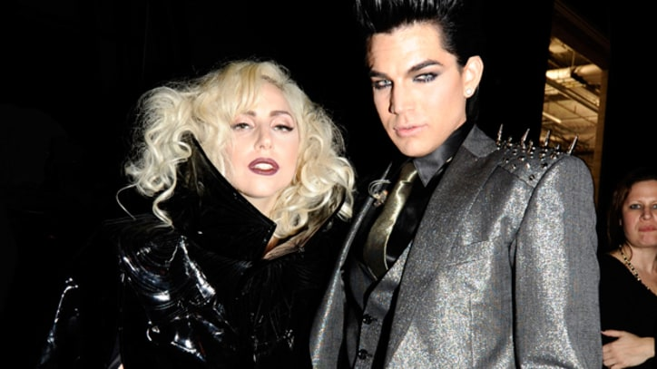 Adam Lambert Rocks With Lady Gaga, Pink on Debut LP