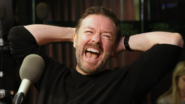 Ricky Gervais to Star in 'Muppets' Sequel