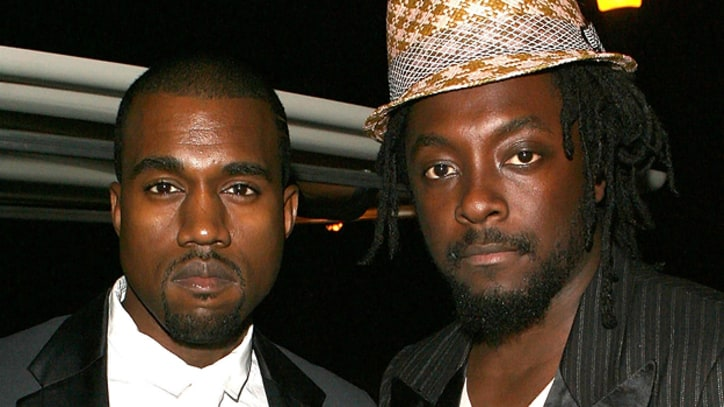 Kanye, Will.i.am Take On 'Thriller'