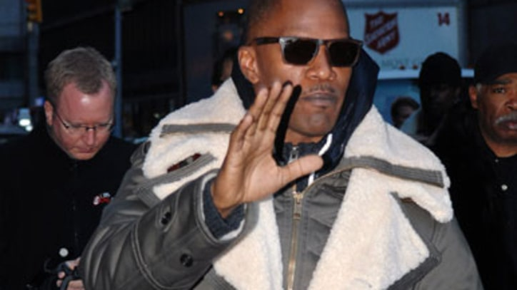 Video: Jamie Foxx Says He Was 'Like a Little Schoolgirl' at Prince Concert
