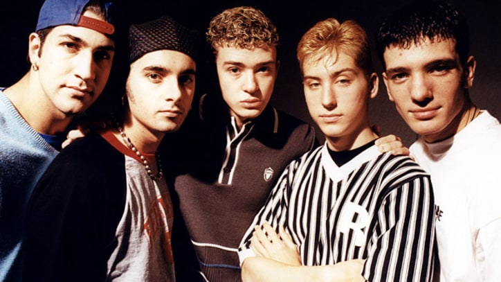 'N Sync Steps Out