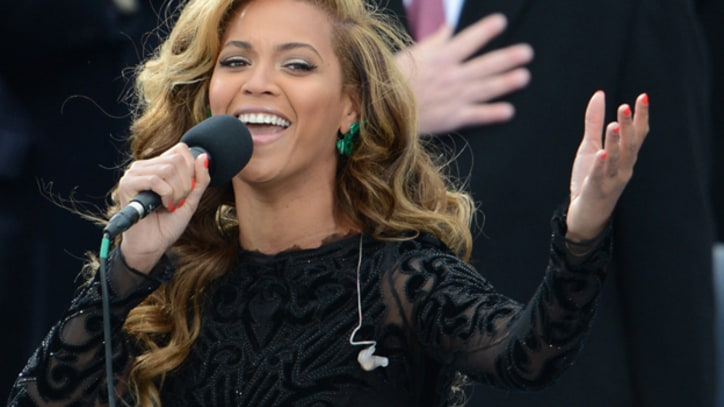 Beyonce Lip-Synced National Anthem at Inauguration