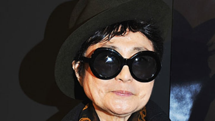 Yoko Ono Lights 'Imagine Peace Tower' In Iceland