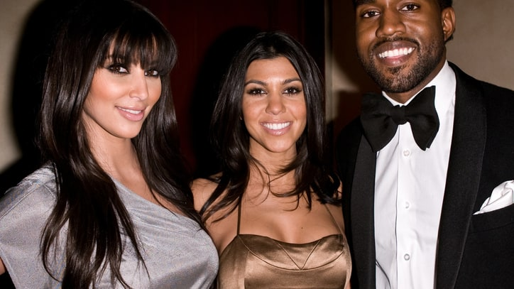Kim Kardashian Shoots Video with Kanye West