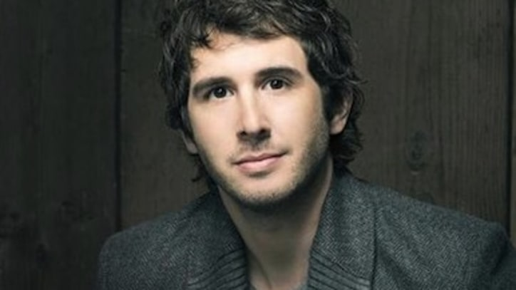 Groban Up, In Public!