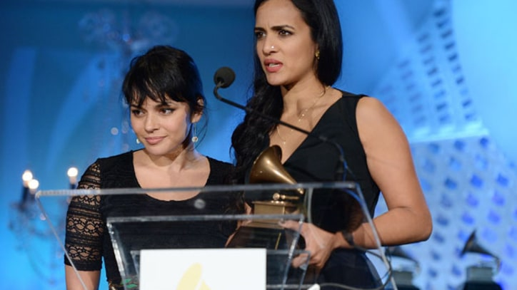 Norah Jones Accepts Ravi Shankar's Posthumous Grammy Honor