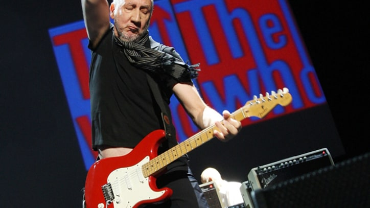 Pete Townshend Checks In
