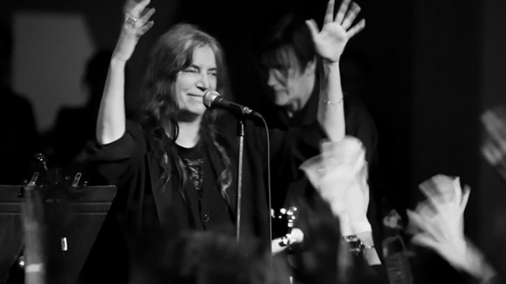 Patti Smith Holds Court at Toronto Art Gallery