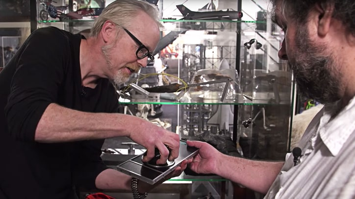 See Peter Jackson, Adam Savage Geek Out Over '2001' HAL Prop