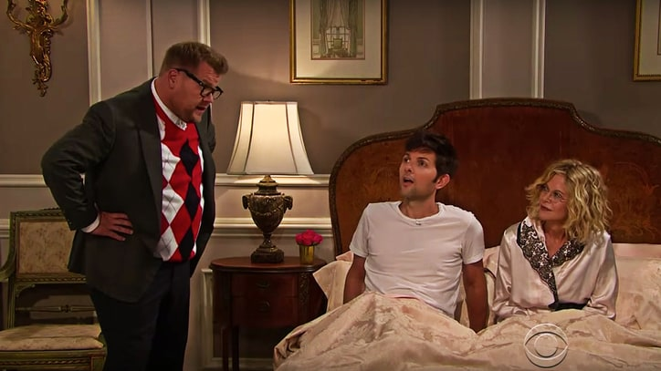 Watch James Corden, Meg Ryan, Adam Scott Act in Brazen Beyonce Soap Opera