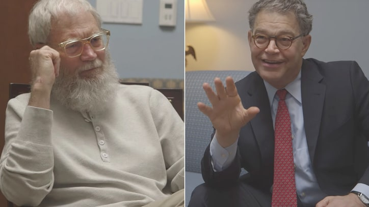 Watch Al Franken, David Letterman Talk Climate Change in New Web Series