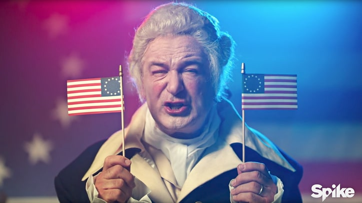 See Alec Baldwin's Donald Trump Channel George Washington in Roast Promo