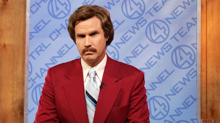 Watch Will Ferrell and 'Anchorman' Team React to Chicago Cubs World Series