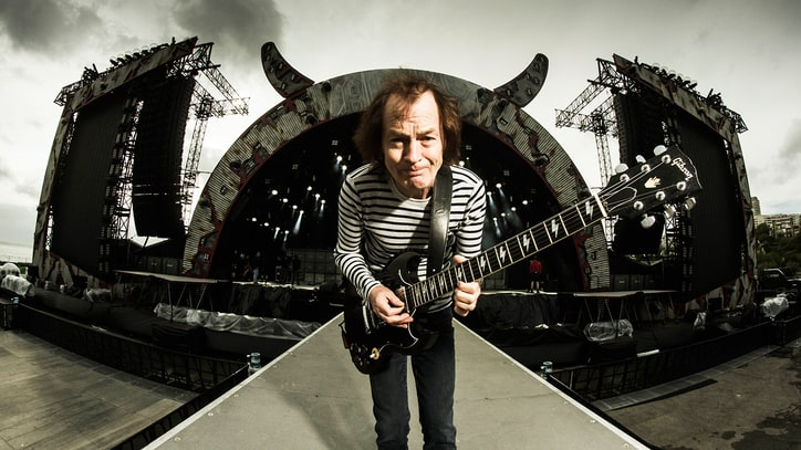 AC/DC's Angus Young Talks Retirement, Malcolm Young Health Update