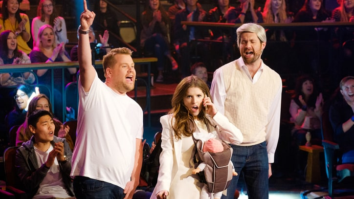 Watch Anna Kendrick, Billy Eichner Sing Adele, Madonna, Bieber on 'Corden'