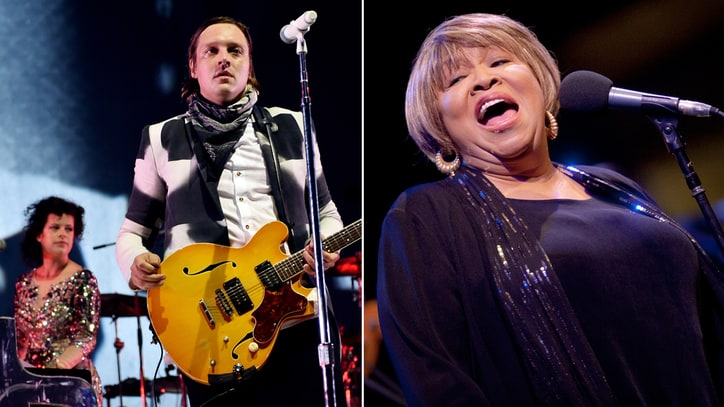 Hear Arcade Fire Members Cover Talking Heads With Mavis Staples
