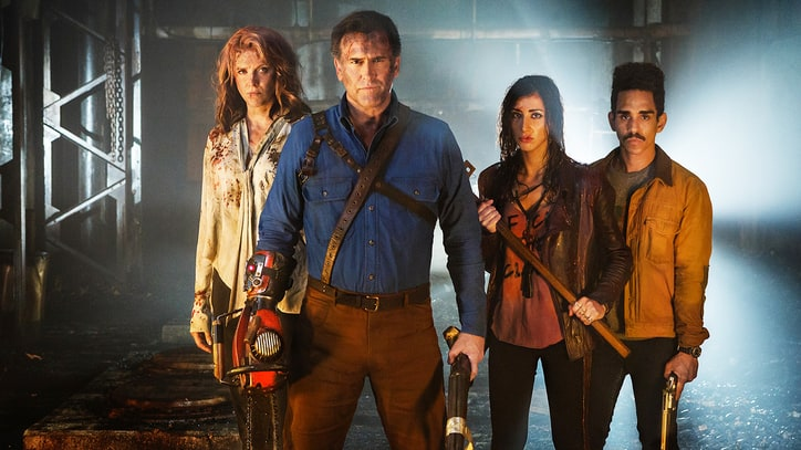 Watch Blood-Spattered, New 'Ash vs. Evil Dead' Trailer