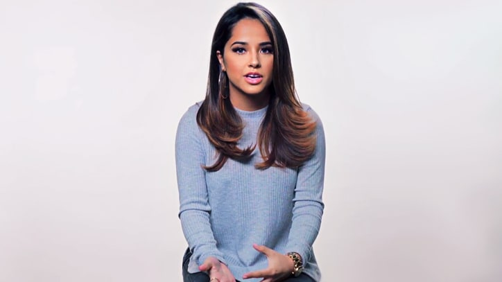 Watch Becky G Reveal Struggles of Her Mexican-American Family