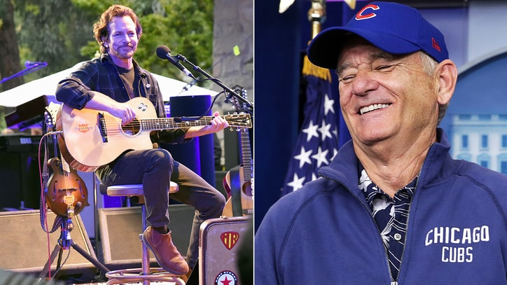 Watch Eddie Vedder, Bill Murray Sing the Band's 'The Weight'