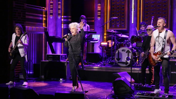 Watch Blondie Perform Upbeat New Song 'Long Time' on 'Fallon'