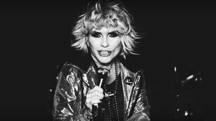 Watch Blondie's Kaleidoscopic Mars Rave in 'Fun' Video