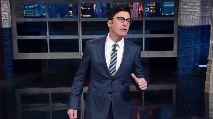 Watch Bob Odenkirk Impersonate Stephen Colbert in Bizarre 'Late Show' Sketch