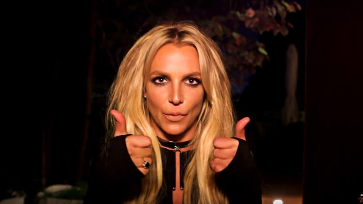 See Britney Spears' Midnight Prank at Jimmy Kimmel's House