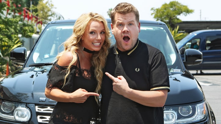 Watch Britney Spears Join James Corden for 'Carpool Karaoke'