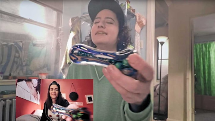 Watch 'Broad City' Stars Pass Pipes Through Computer Screens for 4/20