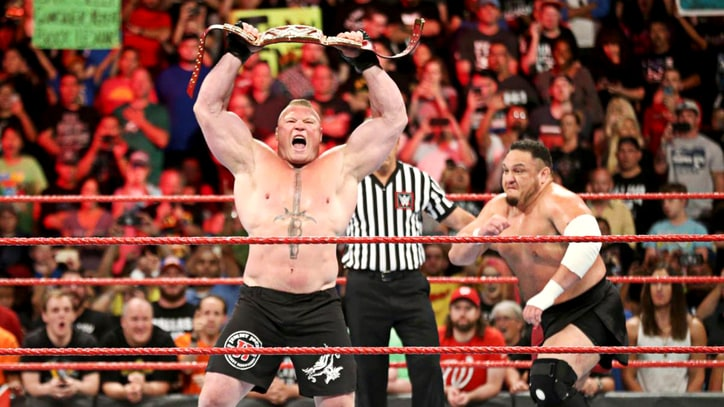 Why Brock Lesnar's Infrequent Title Defenses are Good for WWE