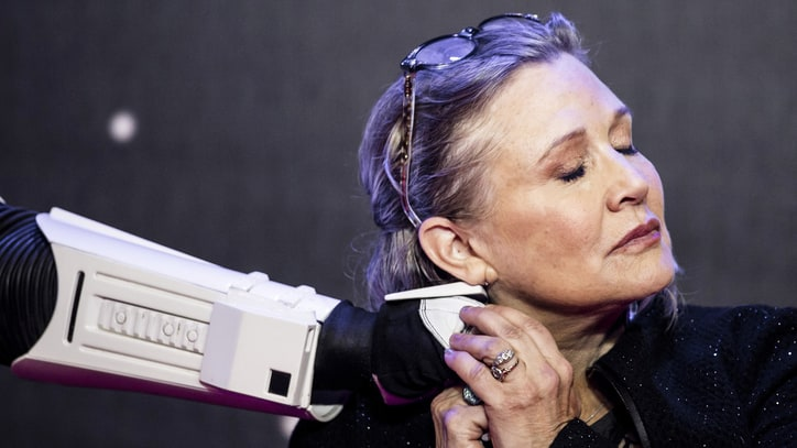 'Star Wars' Brass Discuss Movies After Carrie Fisher's Death