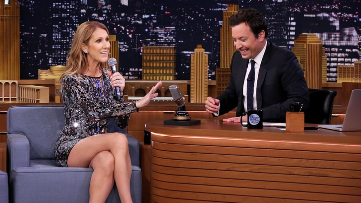 Watch Celine Dion Spoof Cher, Rihanna, Sia on 'Fallon'
