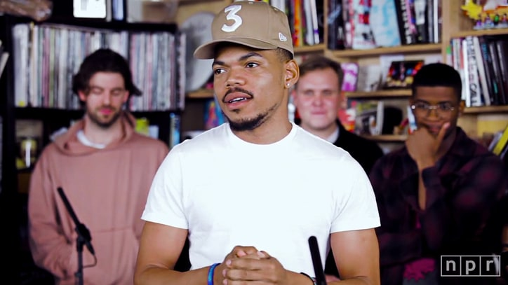 Watch Chance the Rapper's Soulful Stevie Wonder Cover