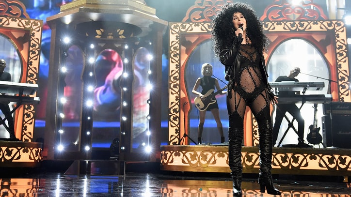 Watch Cher Strut in Vintage 'If I Could Turn Back Time' Outfit at BBMAs