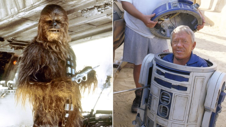 Chewbacca's Peter Mayhew Pays Tribute to R2-D2 Actor Kenny Baker
