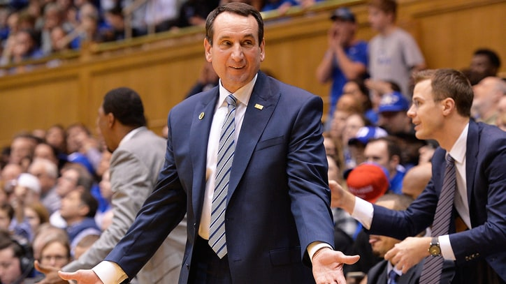 Coach Mike Krzyzewski Speaks Out Against North Carolina's 'Bathroom Bill'