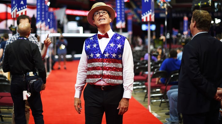 How Stephen Colbert's RNC/DNC Coverage Underlined an Identity Crisis