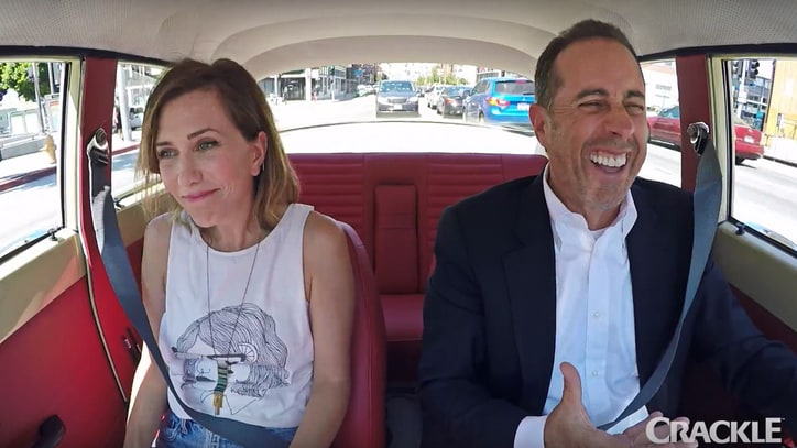 Watch Kristen Wiig Cruise With Jerry Seinfeld in 'Comedians in Cars' Trailer