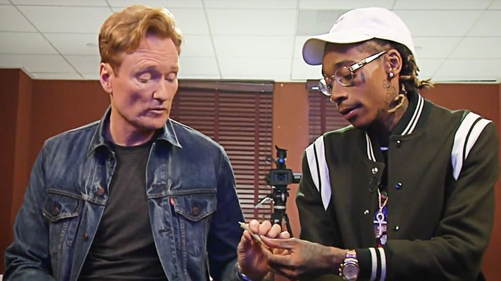 Watch Conan O'Brien, Wiz Khalifa Smoke Weed, Talk Trash During Video Game
