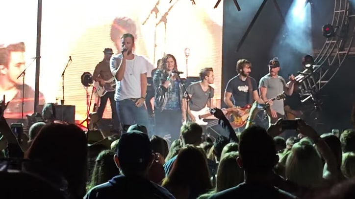 See Lady Antebellum, Sam Hunt, Hunter Hayes Cover Aerosmith