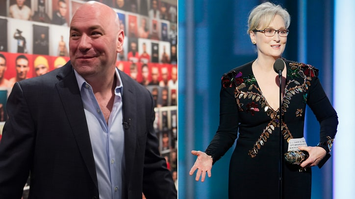 UFC's Dana White on Meryl Streep's 'Uppity' MMA Comments