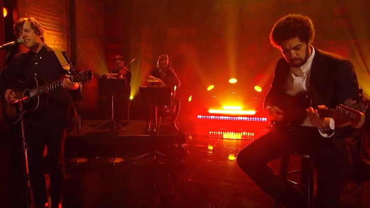 See Danger Mouse, Sam Cohen's Haunting 'The House of the Rising Sun' on 'Conan'