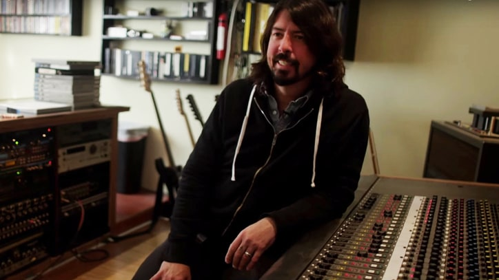 See Dave Grohl React to Hearing His First Solo Demo From 1990