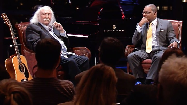 Watch David Crosby, Graham Nash, Robbie Robertson on 'Speakeasy'